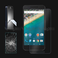 5X Tempered Glass For LG Nexus 5X Google Mobile Phone Premium Tempered Glass Film Screen Protector On LG Nexus 5X