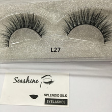 2017 China eyelash factory new premium 3d real mink lashes , own brand 3d mink eyelashes , 3d strip mink lashes and customer box(China)