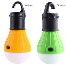 1 PC Hot Selling Outdoor Camping Portable Hanging LED Tent Light Bulb Battery Powered Fishing Lamp VEM91 P50