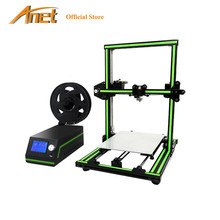 Anet E10 3D Printer DIY 3D Printer Kits Multi-language Software Aluminum Alloy Frame Super Building Volume with 8GB TF Card(China)