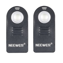 Neewer 2X Wireless IR Remote Control Shutter Release ML-L3 For Nikon D5300,V1,1 AW1 D40,Coolpix 8400,Pronea S,Nuvis S Cameras(China)