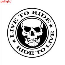 Live to Ride Sticker Car Motorcycle Helmet Decal Vinyl Chopper Biker Decor(China)