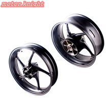 NEW Motorcycle Rear Front Wheel Rim For Triumph Daytona 675R 2013 2014 Street Triple r 13 14(China)