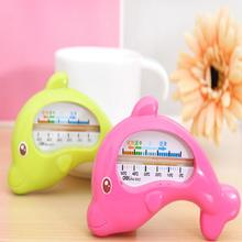 Baby Bath Thermometer Dolphin-type children Water Temperature Gauge Random Colors