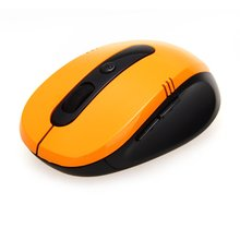 PROMOTION! 2.4GHz Wireless Mouse USB Mouse Orange Mouse 6 keys for Computer PC(China)