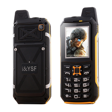 i&YSF M21 IP68 waterproof dual sim card flashlight power bank FM radio recorder dustproof shockproof rugged mobile phone P020