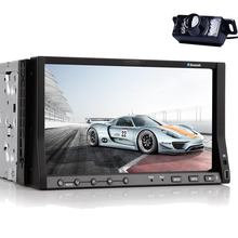 "Vehicle Parts Car Stereo CD EQ Electronics Video PC Music 7"" Accessory Radio SD Receiver Car DVD Player Backup Camera"