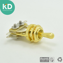 3 way Pickup Toggle lever switch Guitar Switch for Electric Guitar TL replacement guitar part guitar accessary gold color(China)