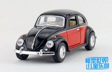 1pc 17cm  Alloy model car toys 1:24 luxuriously Volkswagen beetle car 1967 classic bubble special models baby boy children gifts