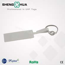 1000pcs/roll Hot Sell Anti Theft Security Rfid Ring Tag UHF Sticker Printable QR Barcode For Jewelry Management(China)