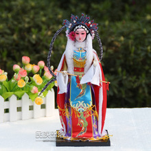 Unique crafts Chinese Opera Figurines Beijing silk people Home Decration
