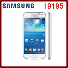 I9195 Original Unlocked Samsung Galaxy S4 Mini I9192 I9195 GPS 4.3`` 8MP 8GB ROM 1.5GB RAM WIFI Touchscreen Smartphone