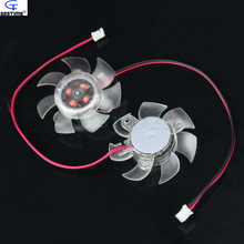 5pcs 45mm Computer PC Graphics / Video Card VGA Cooler Fan Cooling Heatsink 12V 2Pin Connector Freee Shipping