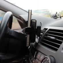 Newest universal car air outlet bracket mobile phone holder auto accessories for iPhone HTC PDA free shipping