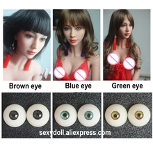 New lifelike silicone sex doll EYE EYEBALL for 135cm 140cm 145cm 148cm 153cm 155cm 156cm 158cm 161cm 163cm adult love sexy dolls