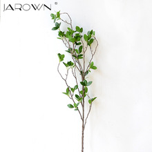 Artificial Flower Leaf Green Plant Branches Simulation Branch Artificial Plant Leaves Wedding Decorative Bouquet DIY material