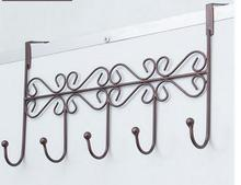 Wrought iron door after seamless adhesive hook hanger clothes hanging hook clothes wall