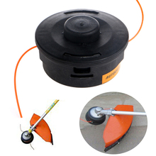 Nice 1 pc Auto Bump Head Cut 25-2 Nylon Line String Trimmer Replacement Bump Head For Lawn Mower 100% High Quality(China)