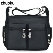 Buy Hot Sale Handbag Women Messenger Bags Women Shoulder Bag Waterproof Nylon Ladies Crossbody Bags Sac Main Bolsa Feminina for $11.03 in AliExpress store