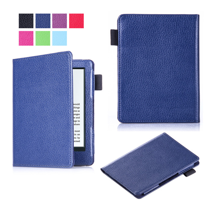 10Pcs/Lot PU Leather Ebook Case Smart Cover for Amazon New Kindle 2016 + Screen Protector Film + DHL Free Shipping<br><br>Aliexpress