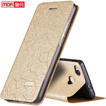 xiaomi redmi 4x case 5.0 xiaomi redmi 4x cover mofi flip book leather cover xiaomi redmi 4x pro coque silicone luxury glitter