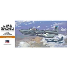 OHS Hasegawa 00142 1/72 A37A/B Dragonfly US Attack Aircraft Assembly Airforce Model Building Kits(China)