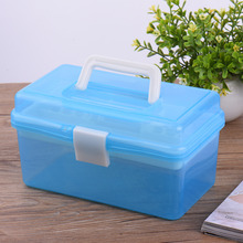 Professional Multi Layer Nail Art Storage Box Case Nail Gel Manicure Scissors Kit Trimmer Cuticle Nipper Set Nail Tool Box