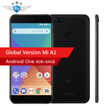 Global Version Xiaomi Mi A1 MiA1 64GB 4GB RAM Smartphone Snapdragon 625 Cellphone 5.5 Inch Dual Cameras 12MP LTE 4G Android One