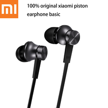 Original Xiaomi Piston Basic Edition headphones With Microphone Ecouteur Headset For iPhone Samsung Mi 3 4 Redmi Phone Earpods