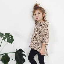 toddler girl clothing Leopard Printing kids dresses for girls kids costume little girls dresses ropa de ninas good(China)
