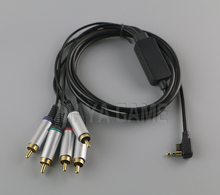 high quality  Color Cord Video and Audio Cable Component AV Cable /Game Cable for PSP 2000 3000 PSP2 PSP3 9141