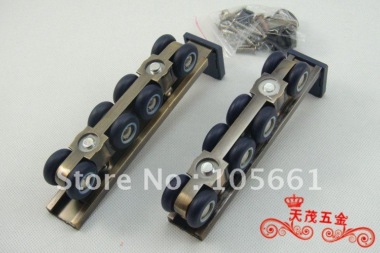 Wood door roller CY-602-8 Picture(a pair include two pcs)<br><br>Aliexpress