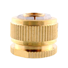 "1/2"" Brass washington washing machine Water Hose Pipe Fitting Tap Adaptor Connector washer Compression(China)"