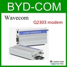 freeship wavecom Q2303A GSM modem for RS232 SMS message sending report machine Bulk message sender