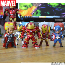 Avengers Age of Ultron Kids Nations SF05 Iron Man Thor Hulkbuster Captain America PVC Action Figures Toys without box HY489