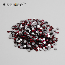 Wholesale 1000Pcs Rose Acrylic Rhinestones Flatback SS20 5mm 3D Nail Art Crystal Beads DIY Phone Case Bags Clothing Supplies