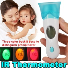 1Pc 8 In 1 LCD Digital Infrared Ear Thermometer Forehead for Baby Pet Toy Child Family Home Temperature Tester Health Care Tool
