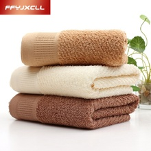 Jacquard Solid 34*76 cm Thicken Soft 100%Cotton Terry Hand Towels for Adults Decorative Face Bathroom Towels Toallas de Mano