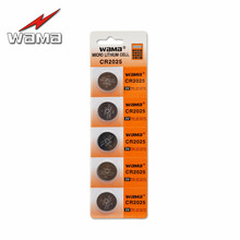 5x Wama CR2025 Button Cell 3V Coin Batteries BR2025 2025 DL2025 ECR2025 KCR2025 LM2025 Li-ion Lithium Car Remote PC(China)