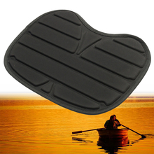 Mayitr Black Comfortable Soft Padded On Top Seat Cushion For Kayak Canoe Fishing Drift Boat Accessories