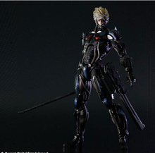 25cm metal gear solid Square Enix Metal Gear Rising Revengeance Action Figures PVC brinquedos Collection Figures toys(China)