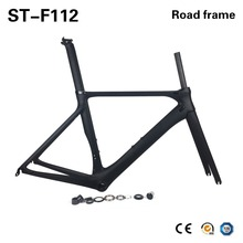 Buy 2018 New Model Aero Carbon Road Frames 700C Carbon Bike Frames Bicycle Road Carbon Frame,T800 Racing Carbon Framesets for $267.19 in AliExpress store