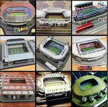 European Cup Football Club 3D game model golf course model (high quality EPS foam board paper material)