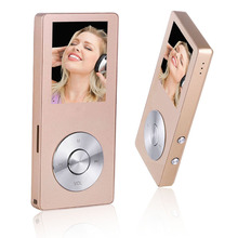 HiFi Metal Music MP3 Player Built-in Speaker 8GB 1.8 Inch Screen Play 80 hrs can Support 128GB SD Card Video Alarm FM Radio - HongYu digital technology co., LTD store