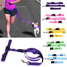 Newly Design 2017 Running Dog Pet Products Hauling Cable Leads Collars Traction Belt Pet Dog Traction Rope May8