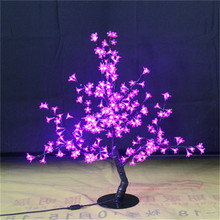 0.8M /2.6ft height LED Cherry Blossom Tree Outdoor indoor Wedding Garden Holiday Light Decor 240PCS  pinkLEDs