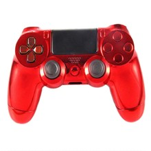 New Fashion Generic Metal Plating Protective Case Cover Skin For Sony Playstation 4 PS4 Handle Game Console Hot Sale