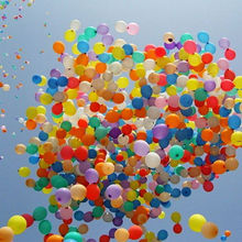 100PCS ashion Colorful Inflable Big Latex Balloons For a Birthday Party Decoration When Blow it Up Balloon Ball 36 Inches(China)