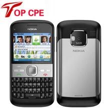 original Refurbished NOKIA E5 cell phones unlocked brand nokia E5 3G 5MP camera mobile phones bluetooth mp3 player(China)