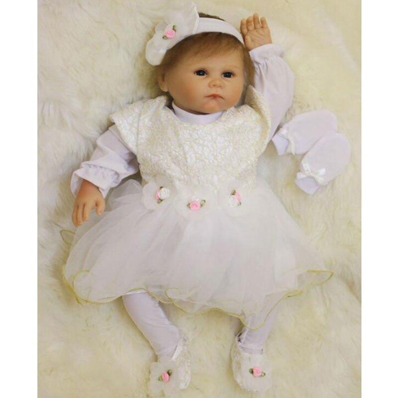 Lifelike Baby Toys 20inch BeBe Reborn Doll 50cm Silicone Reborn Baby Doll Toys Realistic Baby Toys Newborn Juguetes Babies Toys<br><br>Aliexpress